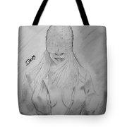 Blind Beauty Tote Bag