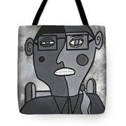 Blind Date Girl Tote Bag
