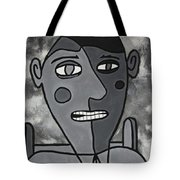 Blind Date Guy Tote Bag