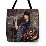 Blind Girl Of Pompeii Tote Bag