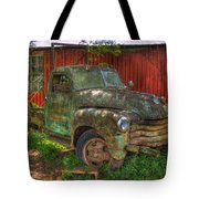 Blind In One Eye 1947 Chevy Flatbed Truck Art Tote Bag