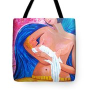Blind Love Tote Bag by Mounir Mounir