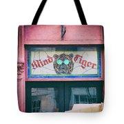Blind Tiger Tote Bag
