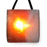 Blinding Iowa Sunrise Tote Bag