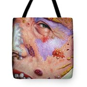 Blindsided Tote Bag by James W Johnson
