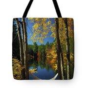 Bliss - New England Fall Landscape Hammock Tote Bag