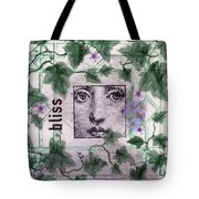 Bliss On Tile Tote Bag