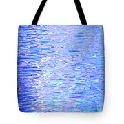 Blissful Blue Ocean Tote Bag