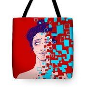 Blissful Deletion Tote Bag