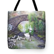 Blissful Morning Tote Bag