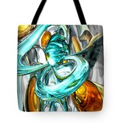 Blissfulness Abstract Tote Bag