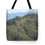 Blithedale Ridge On Mount Tamalpais Tote Bag