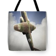 Blitz On The Clouds Tote Bag