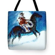 Blizzard Moon-the Last Stray Tote Bag