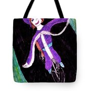 Biking Holiday Tote Bag