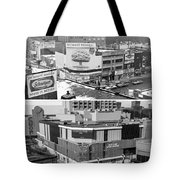 Block 'e' In Minneapolis Tote Bag by Mike Evangelist