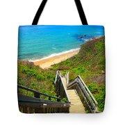 Block Island Art Tote Bag