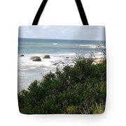 Block Island Sea Shore Tote Bag
