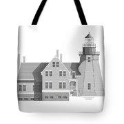 Block Island South East Rhode Island Tote Bag