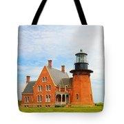 Block Island Southeast Lighthouse Artwork Tote Bag