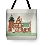 Block Island Southeast Lighthouse Tote Bag