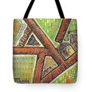 Acrylic Block Art Tote Bag
