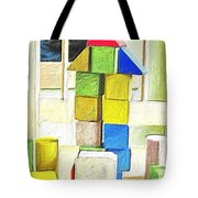 Blocks At Night Tote Bag
