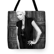 Blonde Attitude Bw Palm Springs Tote Bag