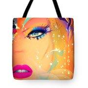 Blonde De Vogue Tote Bag