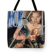 Blonde Ice Film Noir Tote Bag