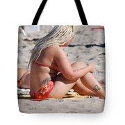 Blondie Braids Tote Bag