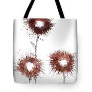 Blood Flower Tote Bag