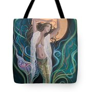 Blood Moon Goddess  Tote Bag
