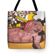 Blood Of The Bull Tote Bag