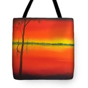 Blood Orange Sunset Tote Bag