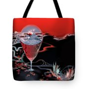 Blood Red From Pure White Tote Bag