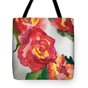 Blood Red Tote Bag