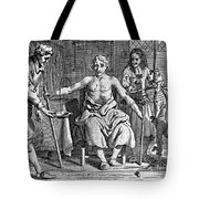 Blood Transfusion From Dog To Man, 1692 Tote Bag