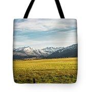 Bloody Mountain Tote Bag