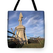 Bloody Road With A Statue Tote Bag