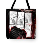 Bloody Walls Tote Bag