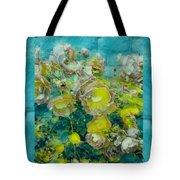 Bloom In Vintage Ornate Style Tote Bag