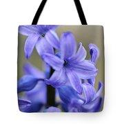 Bloomin Blue Tote Bag