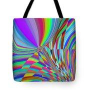 Bloomin Colorful Tote Bag