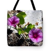 Bloomin Cross Vine Tote Bag