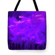 Blooming Amethyst Tote Bag
