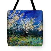 Blooming Appletrees 56 Tote Bag