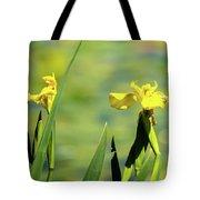 Blooming At Green Lake Tote Bag
