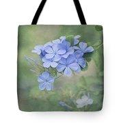 Blooming Blues Tote Bag