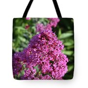 Blooming Brilliant Pink Phlox Flowers In A Garden Tote Bag